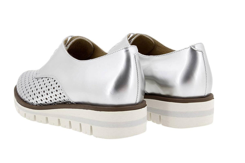 Calzado Mujer Confort de Piel Piesanto 1702 Zapato Cordón Cómodo Ancho ya2yIIqq