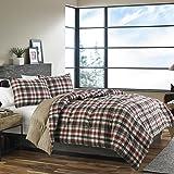 Eddie Bauer 215788 Astoria Down Alt Comforter Set, King