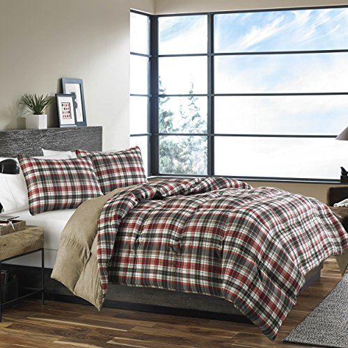 Bauer International Home Accents (Eddie Bauer 215788 Astoria Down Alt Comforter Set,)