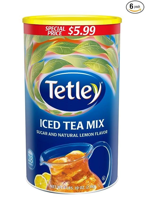 Mens Tetley Tea Mule Slippers Only Tetley Tea Will Do Navy Various Sizes