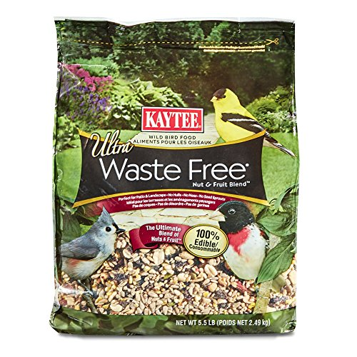Kaytee Waste Free Nut and Fruit Blend, 5.5-Pound (Mess Bird Blend)