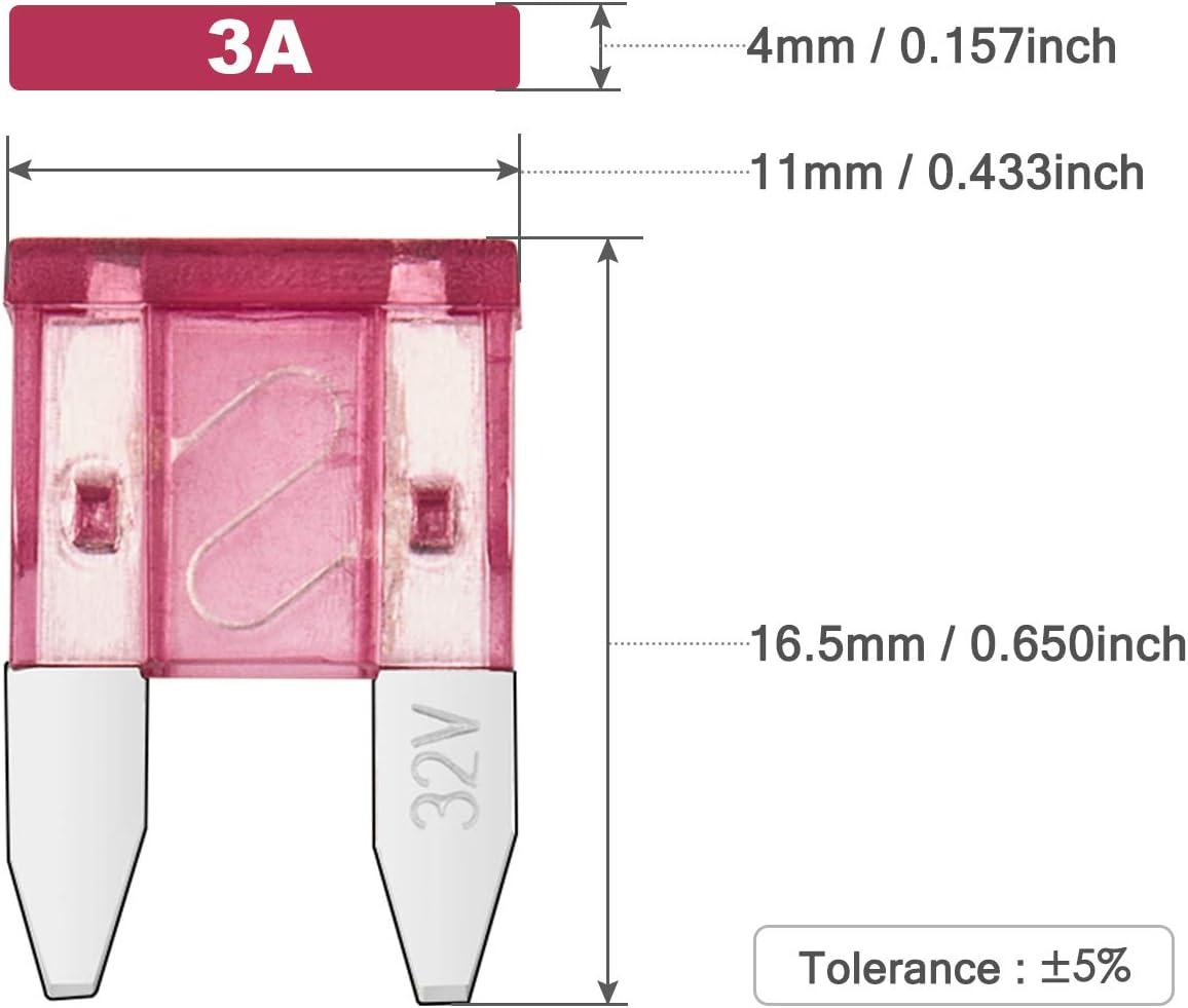 Blade Fuse 15 A Fast Blow for Automotive Car Truck SUV Mini Chanzon 10pcs ATM 15A APM