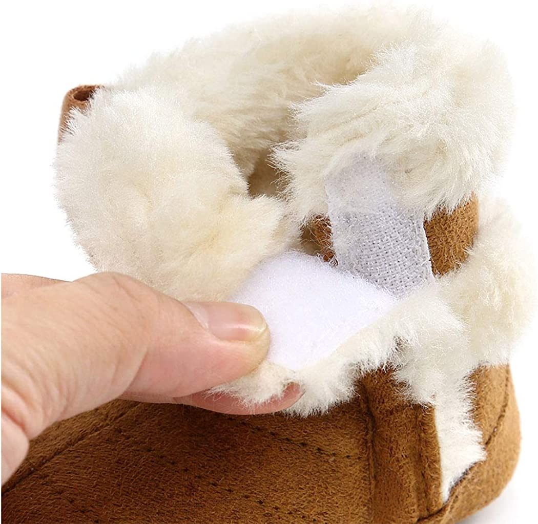   Infant Boots Winter Baby Girl Shoes Soft Sole Anti-Slip Toddler Snow Warm Prewalker Newborn Boots   Boots