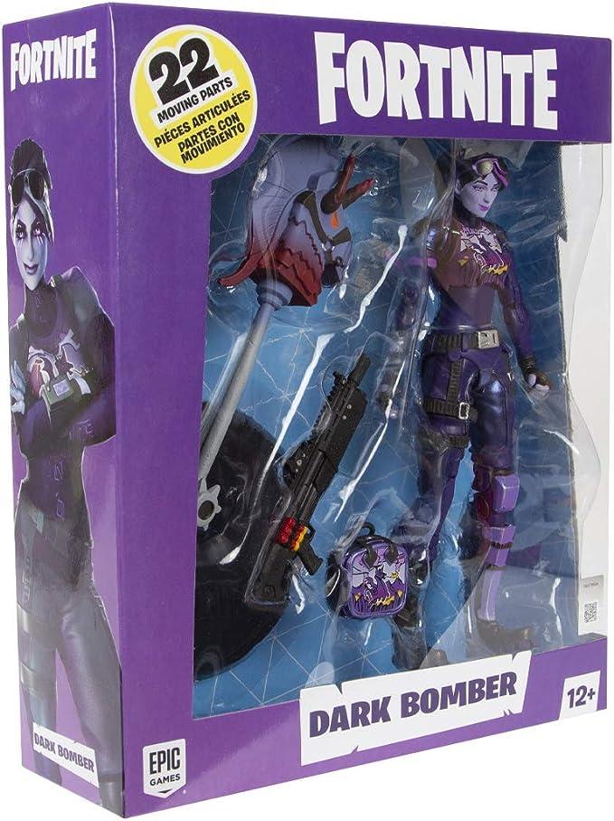 7 inch McFarlane Toys Action Figure Fortnite Battle Royale S4 DARK BOMBER