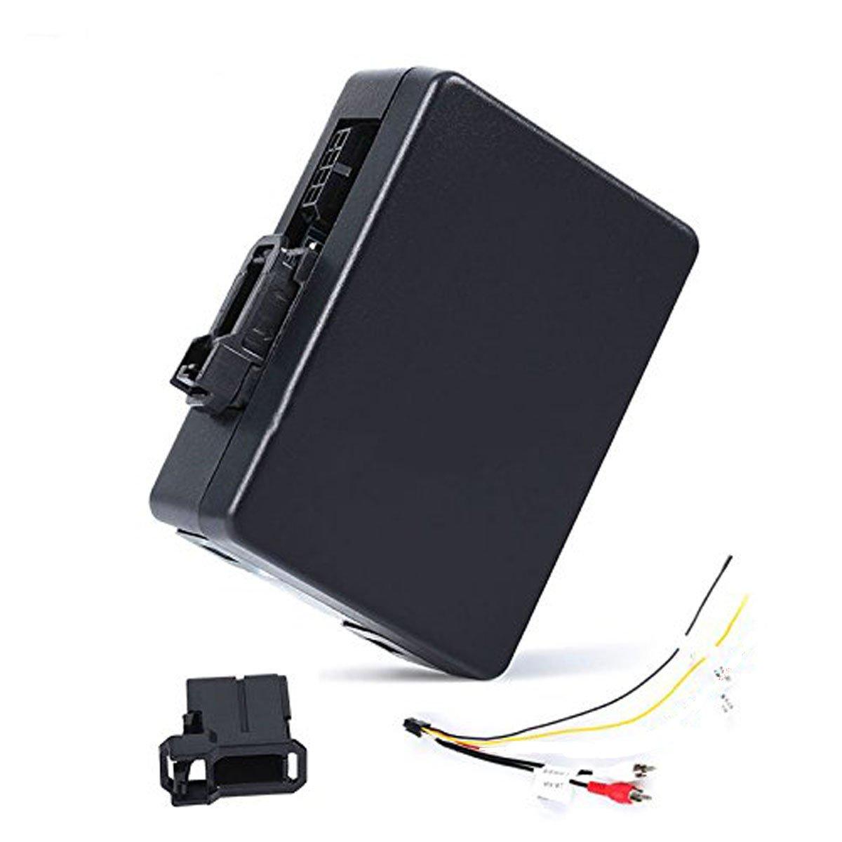 Car Stereo Radio Optical Fiber Decoder Most Box for Mercedes Benz CL/CLS/E/S/SL/SLK W211 W219 by Fly Flag