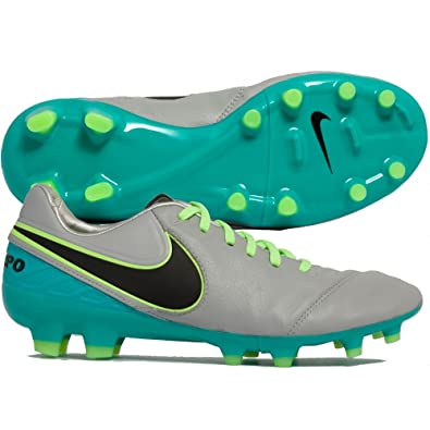 online store a1f61 72a06 Nike Men s s Tiempo Legacy ii fg Football Boots, Gris (Wolf Grey Black-