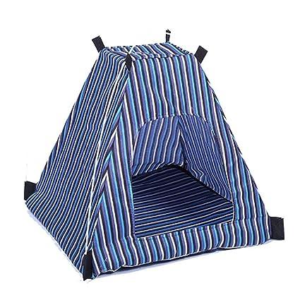 HLMF Cama Plegable para Mascotas Casa de Perro Camping Cat Kennel Cama Playa Tienda