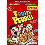 Post Fruity Pebbles Cereal, 20 Ounce , 2 Pack