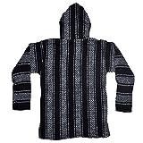 Baja Joe Striped Woven Eco-Friendly Jacket Coat