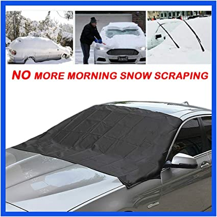 1* Magnetic Car Windshield Snow Cover Winter Ice Frost Guard Sunshade Protection