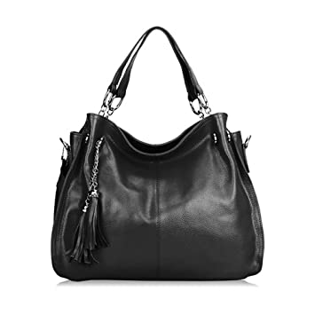 Amazon.com : Sonyabecca Leather Hobo Handbags for Women Mother's ...