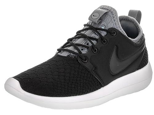 117a3e1d3b25 Nike Women s Roshe Two SE Running Shoe Black Black Cool Grey White ...