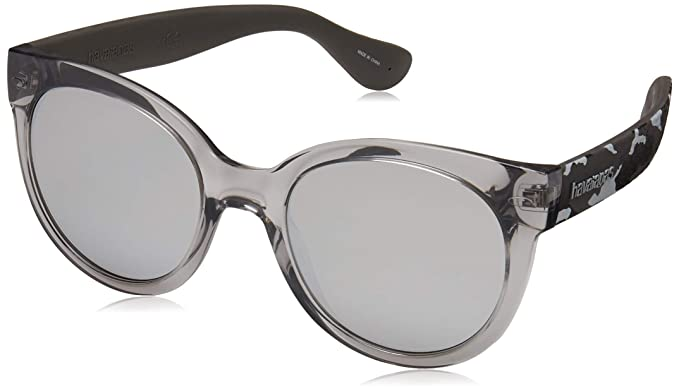 Havaianas Noronha/M Gafas de Sol, Multicolor (Strpd Gry), 52 ...