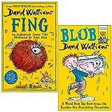 David Walliams Collection 2 Books Set (Fing [Hardcover], Blob)