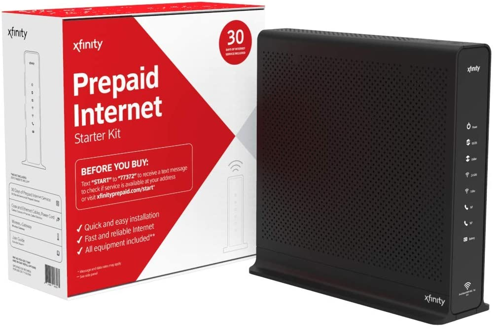 Xfinity Prepaid Internet Starter Kit