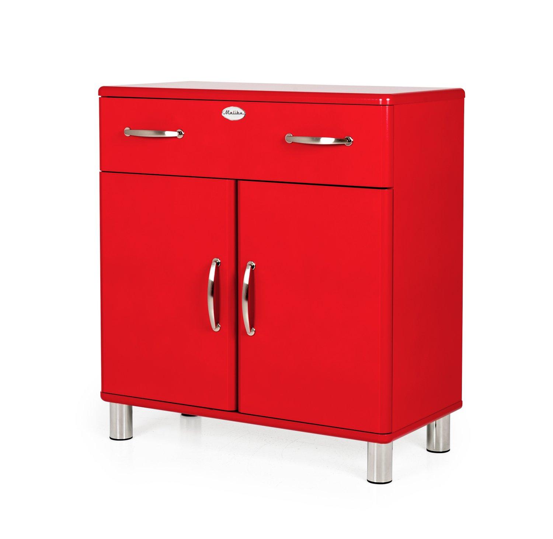 TENZO Designer Cabinet RED 185 x 35 x 34 cm