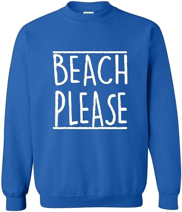 0f0bc7510dbb Mom's Favorite Beach Sweatshirt Beach Please Summer Vacation Funny Birthday  Gift Unisex Crewneck Sweater