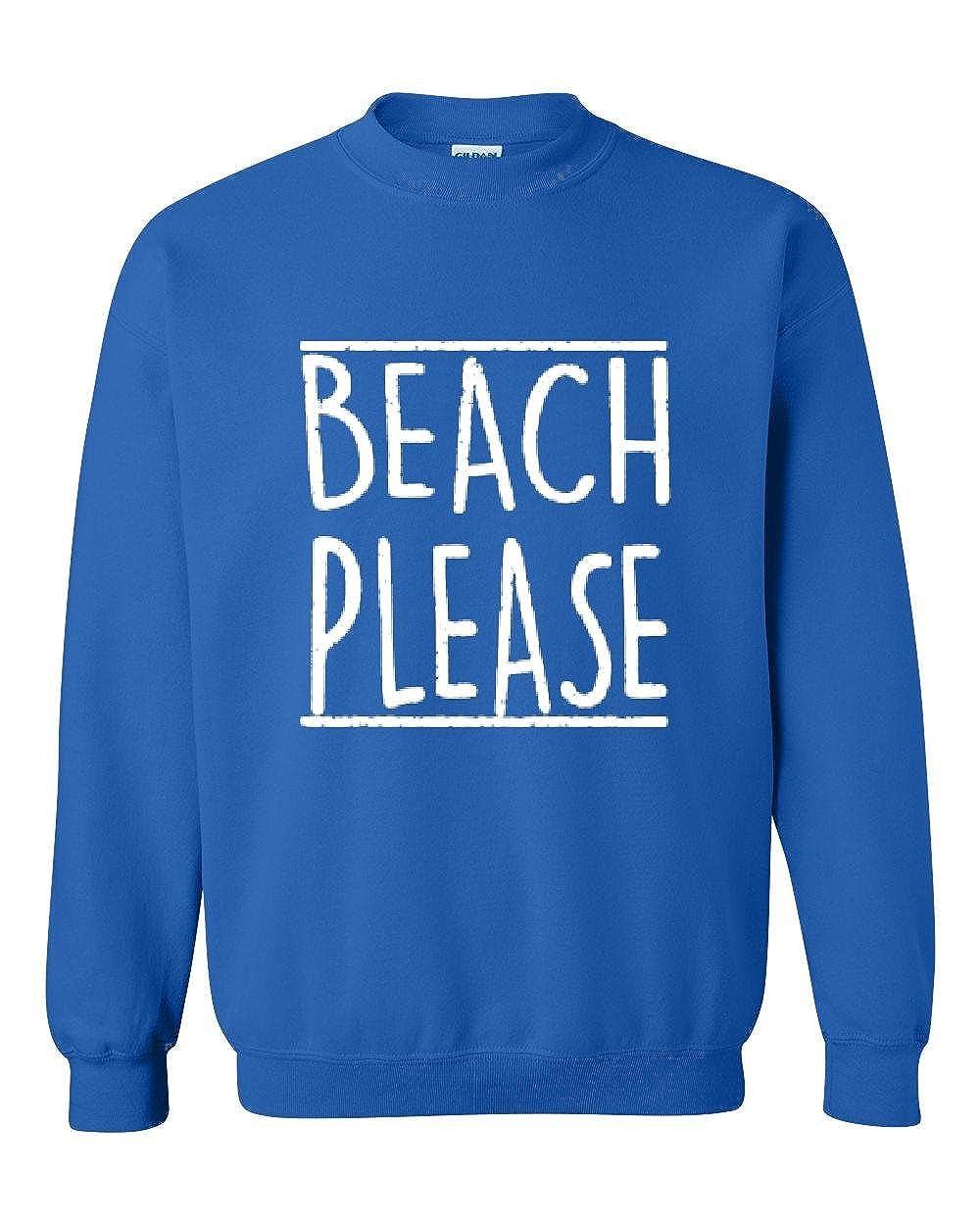 Moms Favorite Beach Sweatshirt Beach Please Summer Vacation Funny Birthday Gift Unisex Crewneck Sweater