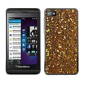 Be Good Phone Accessory // Dura Cáscara cubierta Protectora Caso Carcasa Funda de Protección para Blackberry Z10 // Glitter Sparkly Pattern Bling