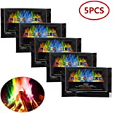 Womdee Magical Fire, (TM) Hot Magic Tricks Flames Powder Bonfire Sachets Color Mystical Fire Fireplace Pit Toy Professional Magicians Pyrotechnics Toy,Outdoor Picnic Accessories