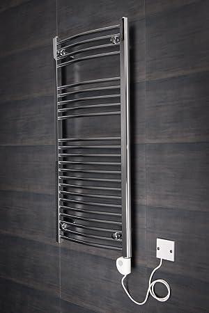 Sèche-serviettes radiateur moderne électrique thermostatique Vienna ...