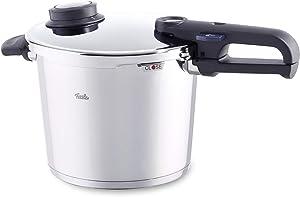 Fissler vitavit premium Pressure Cooker, 6.4 Qt, Silver
