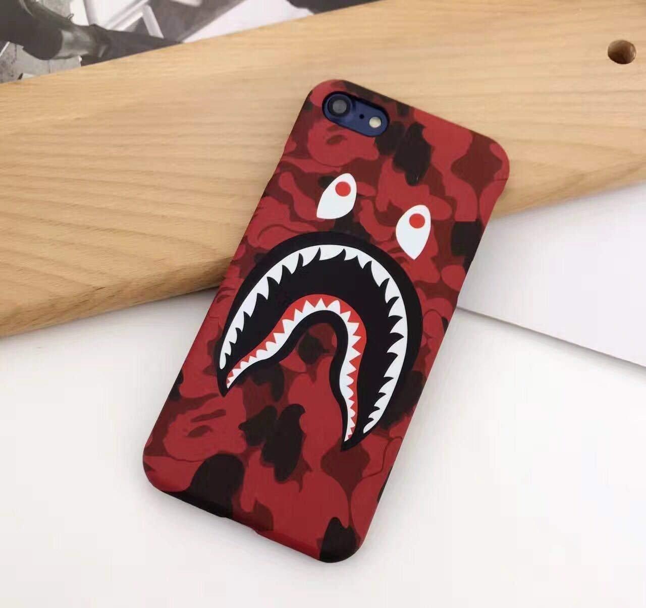 the best attitude de97b f6279 iPhone 7 Plus/ 8 Plus Case, A Bathing Ape (Bape) Slim Protective Premium  Hard Case for iPhone 7 Plus/ 8 Plus Case (Green Camo)
