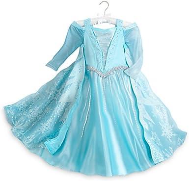 Disney Store Frozen Elsa – Disfraz Luminoso para niños: Amazon.es ...