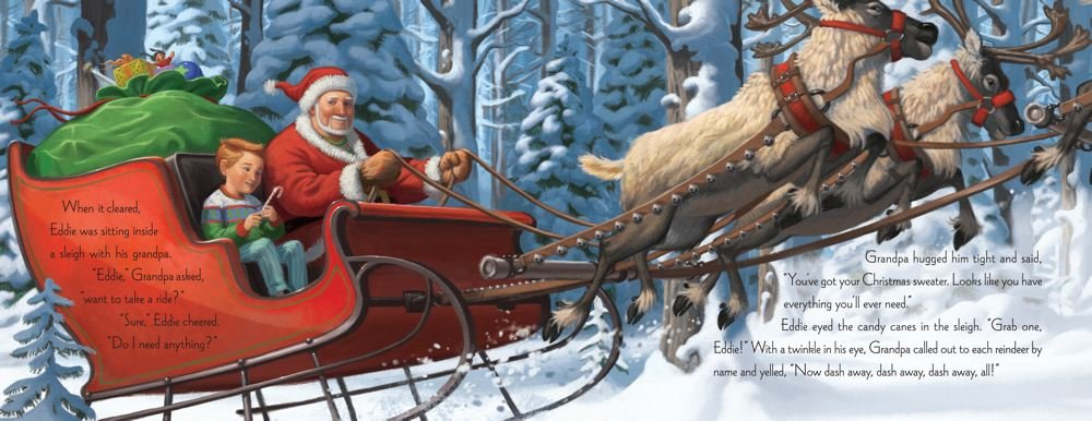 The Christmas Sweater: A Picture Book: Glenn Beck, Kevin Balfe ...