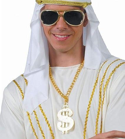Guirca Collar con símbolo del Dollar  Amazon.es  Juguetes y juegos 6aaa9f67914