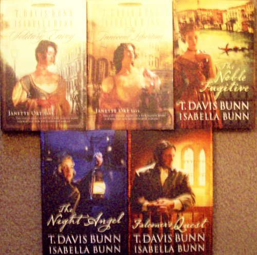 The Solitary Envoy/The Innocent Libertine/The Noble Fugitive/The Night Angel/Falconer's Quest (Heirs of Acadia Series 1-5)