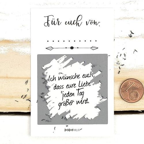 Geschenk Für Brautpaar Rubbellos 25 Stück Rubbelkarten Wünsche