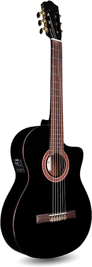 Cordoba c5-ce BK Guitarra Clásica Electro-Acoustique negra + funda ...