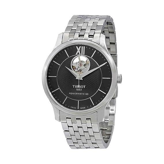 TISSOT RELOJ DE HOMBRE AUTOMÁTICO 40MM CORREA DE ACERO T0639071105800: Amazon.es: Relojes