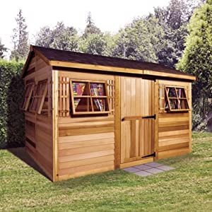 Best Epic Trends 61npfKVFFbL._SS300_ Cedarshed Shed 9 x 6 ft. Beach House Garden Shed