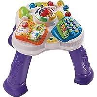 VTech Baby - Mesita parlanchina 2 en 1, mesa de actividades infantil con panel interactivo de actividades extraíble (80…