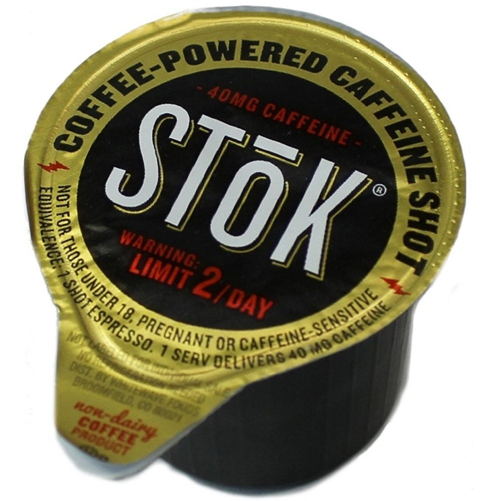 50 StoK Caffeinated Black Coffee Shots