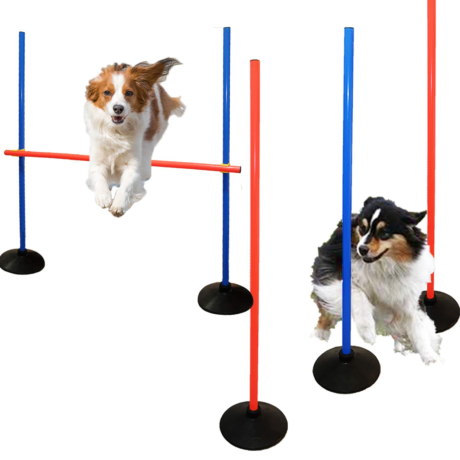 AKA Agility Training Set | Weave Pole & Hurdle| by AKA Sports Gear