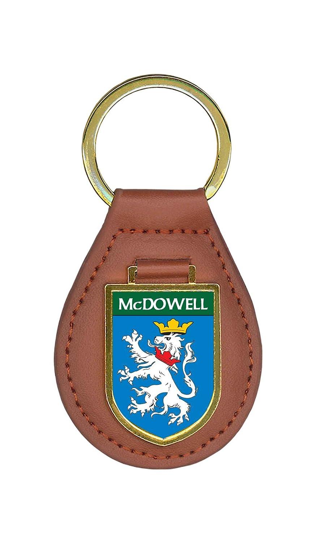 McDowell家紋キーチェーン 1 Key Ring ブラウン McDowell B01HDX2GBC  1 Key Ring
