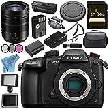 Panasonic Lumix DC-GH5S Mirrorless Micro Four Thirds Digital Camera Leica DG Vario-Elmarit 12-60mm f/2.8-4 ASPH. POWER O.I.S. Lens Bundle