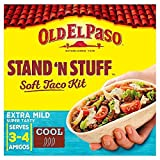 Old El Paso Stand 'N' Stuff Soft Taco Kit Extra Mild – 329g (0.73lbs)