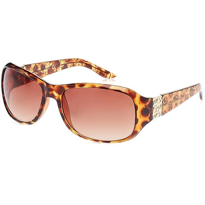 GUESS GU6395_S58, Gafas de Sol para Mujer, Marrón (Havana), 60