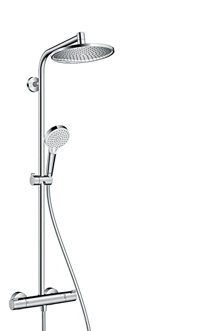 hansgrohe Crometta S 240 All in one Shower System with Thermostatic ...