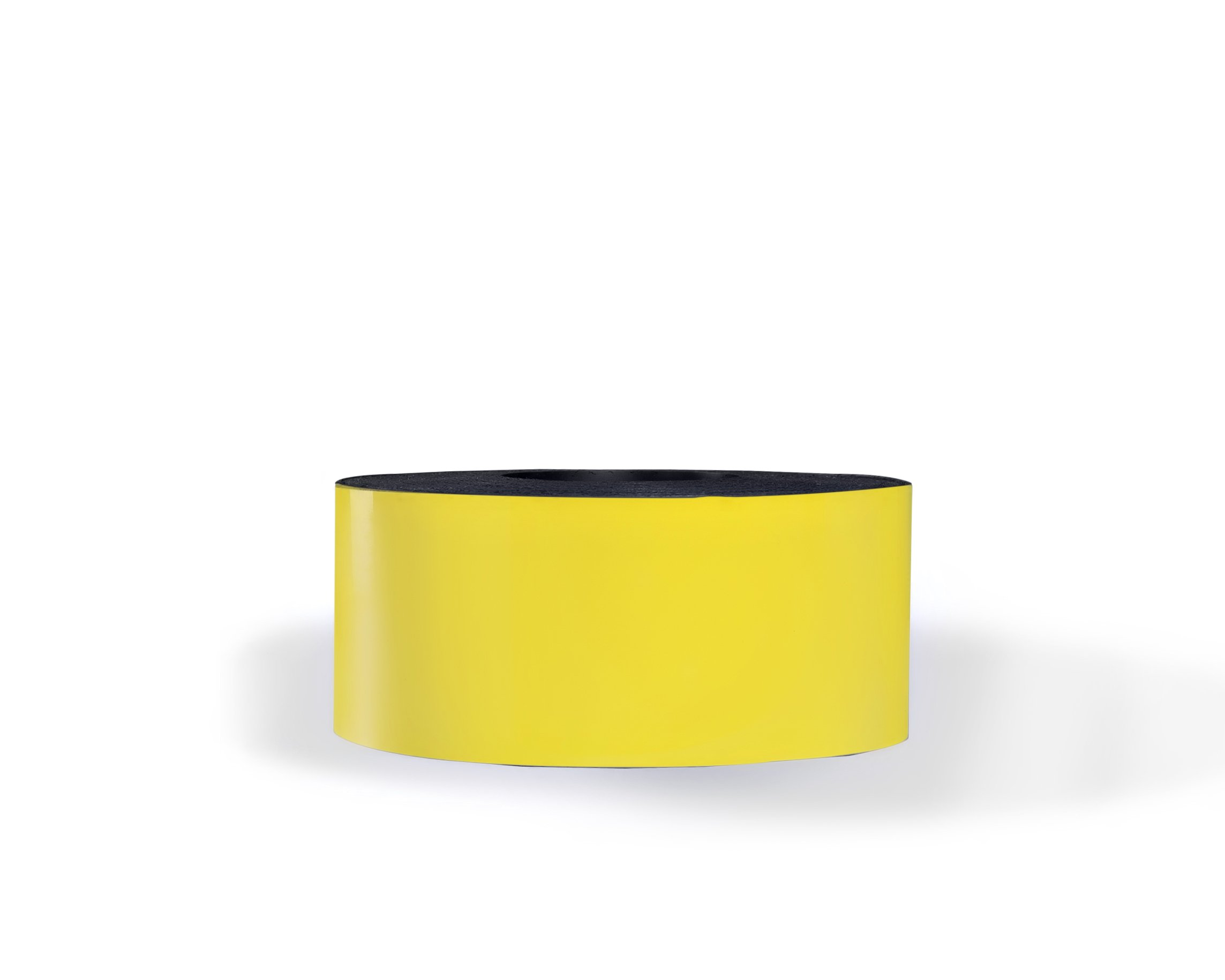 30 Mil Dry Erase Magnetic Strip Roll - Yellow - 3'' X 100'