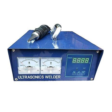 MXBAOHENG Handheld ultrasónico máquina de Soldadura de plástico portátil ultrasónico Spot Soldador 500 W PE Material