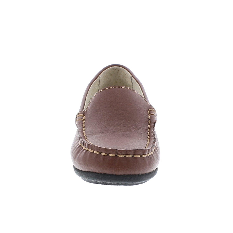 FOOTMATES Brooklyn Slip-On Loafer Cognac 9203//11 Little Kid M//W