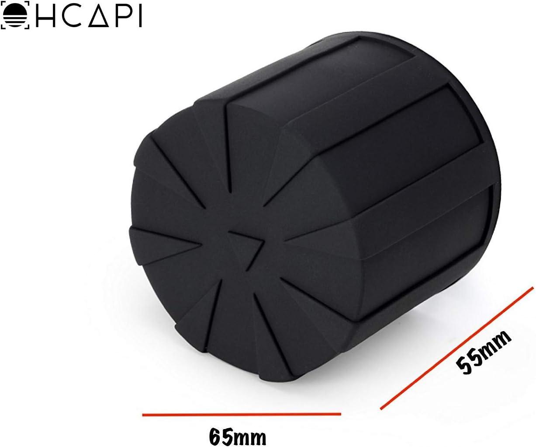 elementsicher schwarz KUVRD Universal-Objektivdeckel 2.0 Micro Micro lebenslange Abdeckung passend f/ür 99 /% DSLR-Objektive 2-Pack