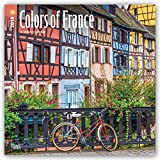 Colors of France 2018 12 x 12 Inch Monthly Square Wall Calendar, Travel Europe French Country Lavendar