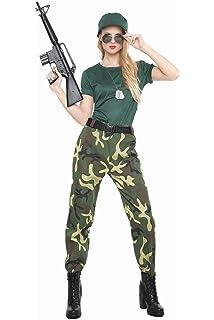 Atosa-54131 Disfraz Militar, Color Verde, M-L (54131): Amazon.es ...
