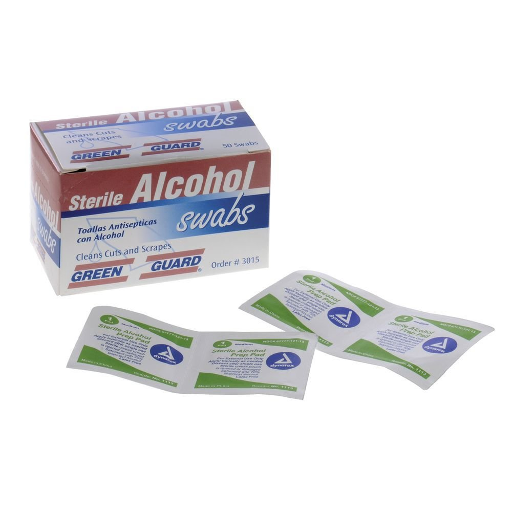 Thermometer Wipes Alcohol - Box of 50: Amazon.com: Industrial & Scientific